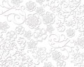 Elegant white floral textures Royalty Free Stock Photo