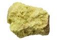 Elemental Sulfur Royalty Free Stock Photo