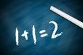Elementary Math Royalty Free Stock Photo