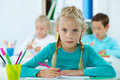 Elementary pupil Royalty Free Stock Image