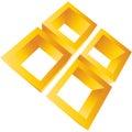 Elemento corporativo Imagem de Stock