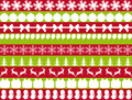 Elements for christmas design Stock Images