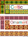 Elements of design in Celtic Royalty Free Stock Photography