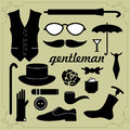 Elements for gentlemen Stock Image