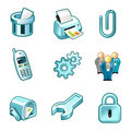 Elements for icons panel Royalty Free Stock Photo