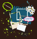 Elements for scrapbooking. vector illustration. Royalty Free Stock Images