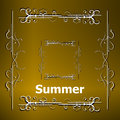 Elements For Summer Calligraph...