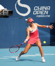 Elena Dementieva (RUS) at the China Open 2009 Stock Image