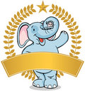 Elephant - banner Royalty Free Stock Photos