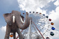 Elephant at the Carnival Royalty Free Stock Photography