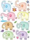 Elephant Cute Sets_eps