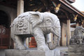 Elephant entrance of nanputuo temple Royalty Free Stock Photo