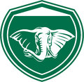 Elephant Head Tusk Front Shield