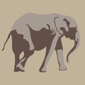Elephant an image of an Royalty Free Stock Images
