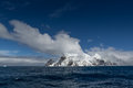 Elephant Island (South Shetland Islands) in the Southern Ocean. With Point Wild, location of Sir Ernest Shackleton amazing surviva Royalty Free Stock Photo