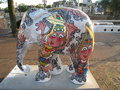 Elephant parade Royalty Free Stock Photo