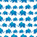 Elephant pattern Stock Image