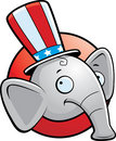 Elephant Republican Stock Photo
