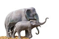 Elephant Statue. Royalty Free Stock Photo