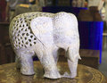 Elephant stone carving Royalty Free Stock Photo