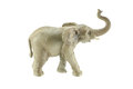 Elephant toy isolated on white background Royalty Free Stock Photo
