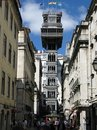Elevador de Santa Justa Royalty Free Stock Photo