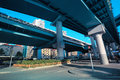 Elevated expressway in shanghai Royalty Free Stock Photo