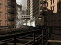 Elevated in Manhattan