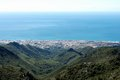 Elevated view of Marbella, Spain. Royalty Free Stock Image