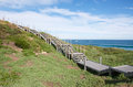 Elevated Walkway at Penguin Island Royalty Free Stock Photo