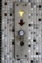 Elevator button Royalty Free Stock Photo