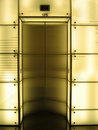 Elevator door Stock Image