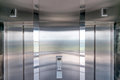 Elevator doors Royalty Free Stock Image