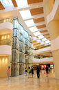 Modern elevator or lift lobby Royalty Free Stock Photo