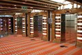 Elevators on a cruise ship Royalty Free Stock Photo
