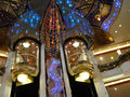 Elevators on cruise ship
