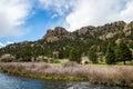 Eleven Mile Canyon Colorado Royalty Free Stock Photo