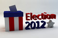Elezione 2012 Immagini Stock Libere da Diritti