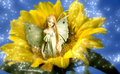Elf fairy of dreams Stock Photo