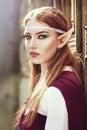 Elf girl Royalty Free Stock Photo
