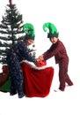 Elf Mischief Royalty Free Stock Photo