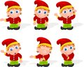 Elf set 01 Royalty Free Stock Photography