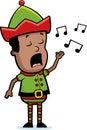 Elf Singing Royalty Free Stock Image