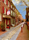 Elfreth's Alley Royalty Free Stock Photography