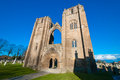 Elgin cathedral located in the north east of scotland in a town of is a majestic ruin dating back to the th century and Stock Photo