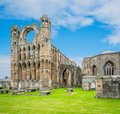 Elgin Cathedral in a sunny day, Moray, Scotland