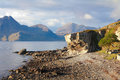 Elgol beach Royalty Free Stock Photo