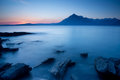 Elgol beach isle of skye scotland Stock Photography