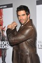 Eli roth dvd launch his movie inglourious basterds new beverly cinema los angeles december los angeles ca picture paul smith Royalty Free Stock Images