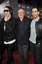 Eli Roth,Wes Craven,Marilyn Manson Stock Photos